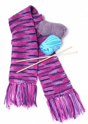 Types Of Knitting Stitches For Scarves : Types of Scarf Knitting Patterns Craft Shed - For All Your Art And Craft Needs