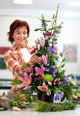 """flower arrangements"""